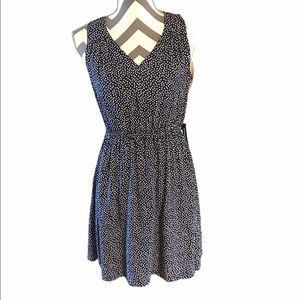 Old Navy NWT SMALL Polka Dot Dress Navy & White